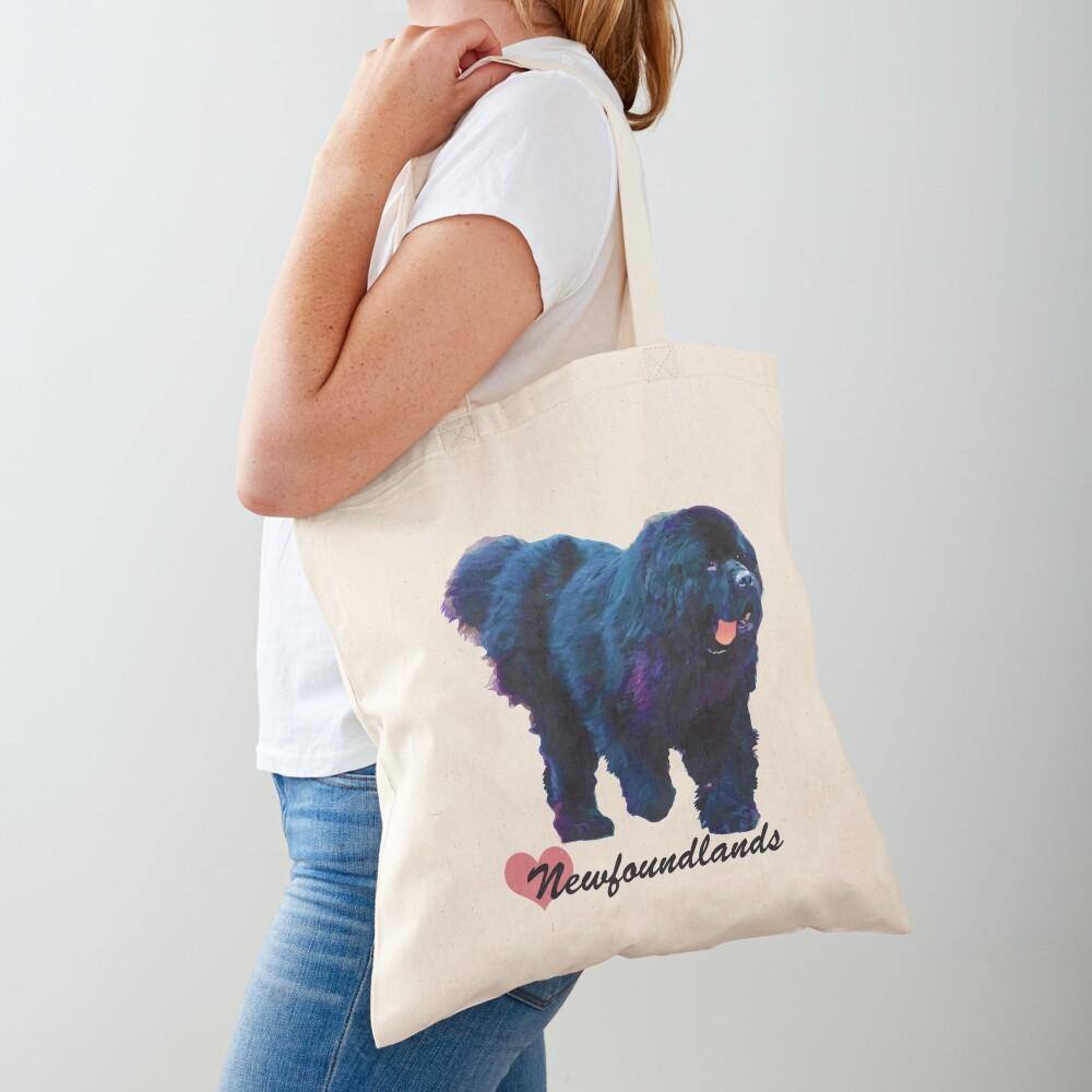 I Love Newfoundlands Tote Bag