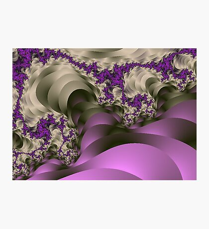 Ribbons and Ivy Fractal Photographic Print