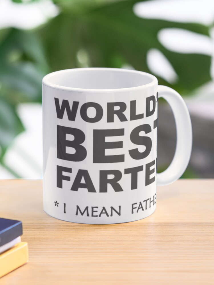 Gift For Dad From Daughter World/'s Best Farter Mug Father Gifts Funny Dad Gifts