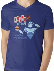 COSMO BURGER! Mens V-Neck T-Shirt