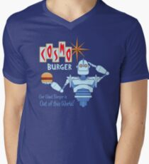 COSMO BURGER! Men's V-Neck T-Shirt