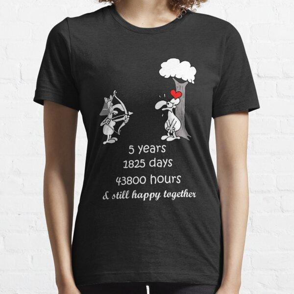 Di desde 2014 para mujer divertido aniversario de bodas T-Shirt Mujer Día De San Valentín