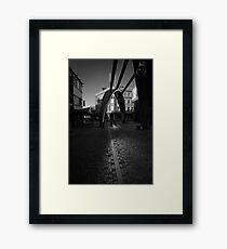 Angle of Reflection - Blackpool, Fylde, Lancs, UK Framed Print