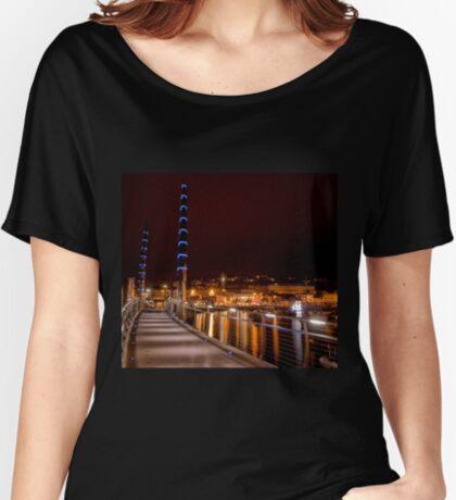 Torquay Hafen Lichter Loose Fit T-Shirt