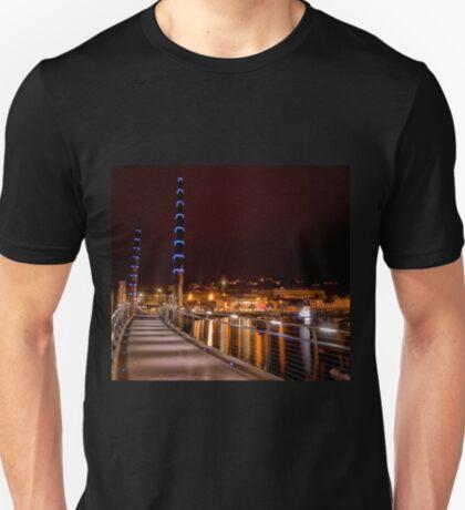Torquay Hafen Lichter T-Shirt