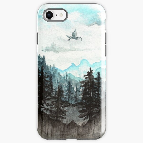 Surveying the slopes  iPhone Tough Case