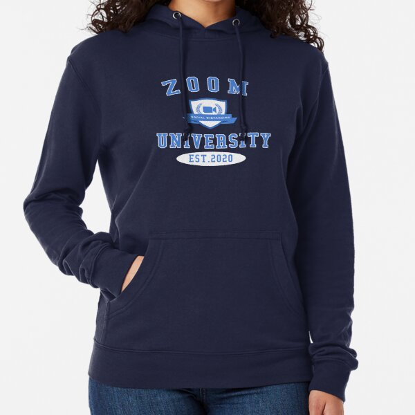 Zoom University Logo Lightweight Hoodie