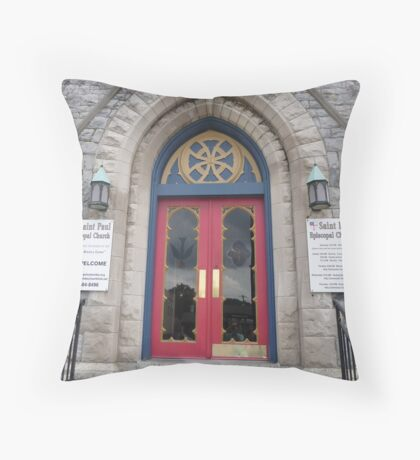 Welcome to St. Paul Throw Pillow