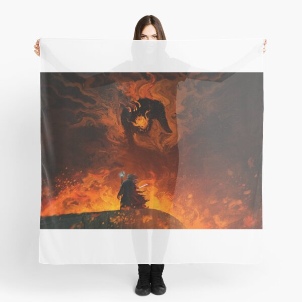 The Shadow and the Flame Foulard