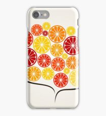 Branch an orange iPhone Case/Skin