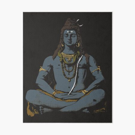 Buddha Shiva Goa India Tibet Nepal Meditation Yoga FINE ART PRINT