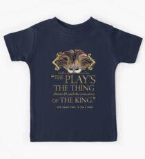 Shakespeare Hamlet Play Quote Kids Tee