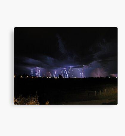 Severe Thunderstorm Canvas Print