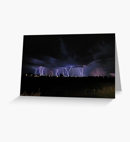 Severe Thunderstorm Greeting Card