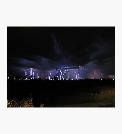 Severe Thunderstorm Photographic Print