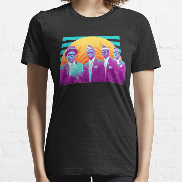 Coffin Dance Meme Synthwave Essential T-Shirt