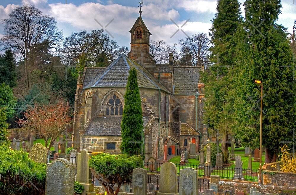 Parish Kirk of Mid-Calder by Tom Gomez