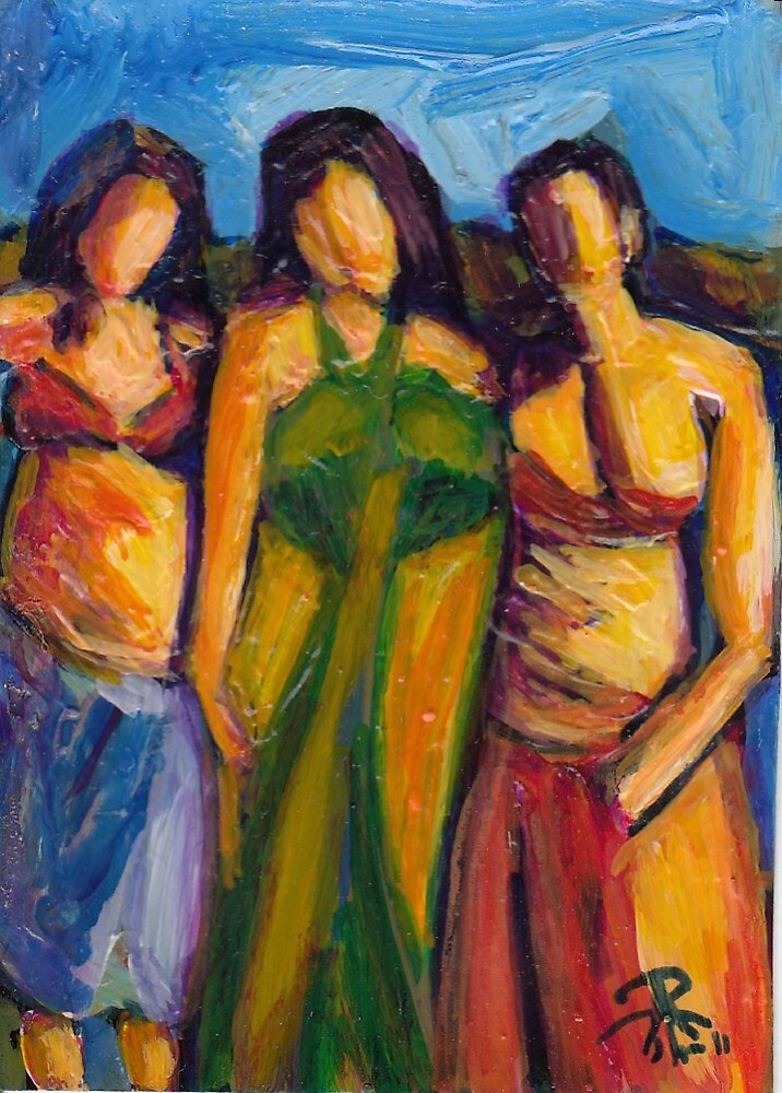 Three Women in Brazil by Judith Livingston