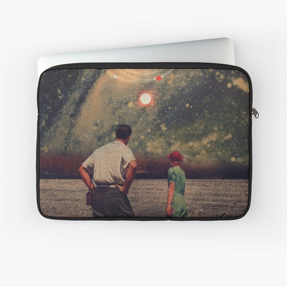 Light Explosions In Our Sky Laptop Sleeve