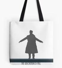The Reichenbach Fall Tote Bag
