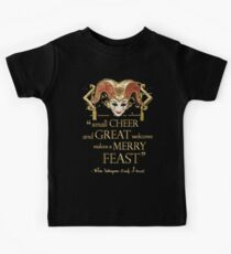 Shakespeare Comedy Of Errors Feast Quote Kids Clothes