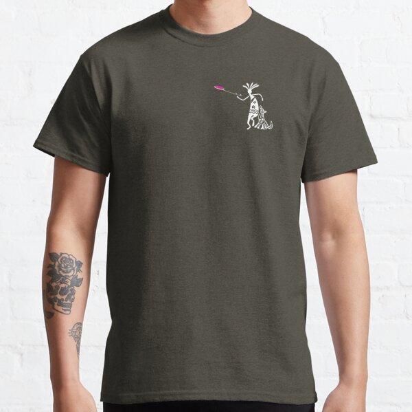 Kokopelli and Dog Classic T-Shirt