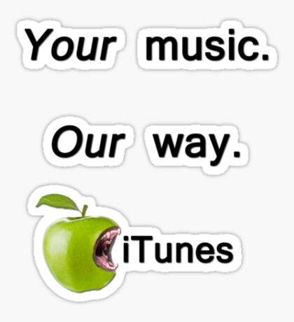 Your Music Sticker