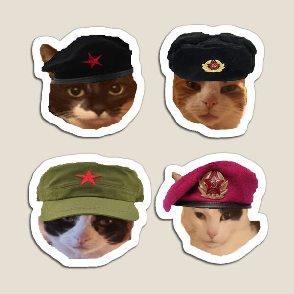 Cats are Comrades pack Magnet