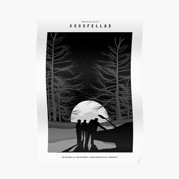 Goodfellas Print Poster