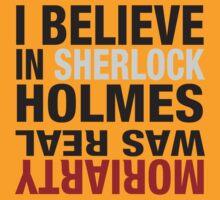 Typography I believe in Sherlock Holmes