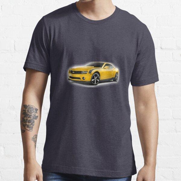Culte Transform Bumblebee Fun T-shirt noir Fun Chevrolet Camaro
