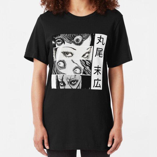 Junji Ito collection Uzumaki Slim Fit T-Shirt