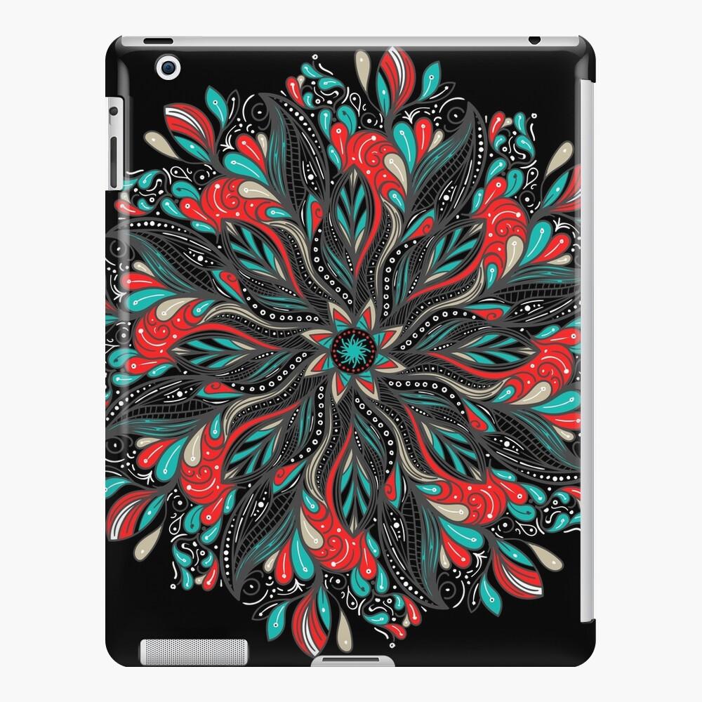 Mandala Flowers Funda y vinilo para iPad