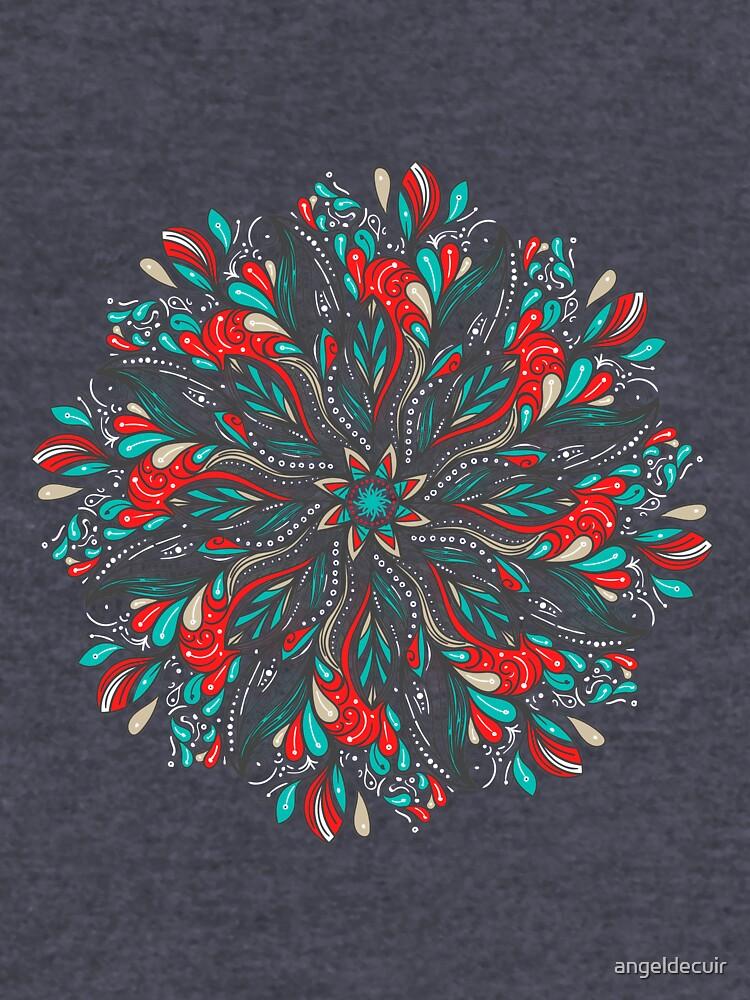 Mandala Flowers de angeldecuir