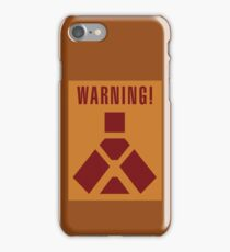 Wampa Warning - English iPhone Case/Skin