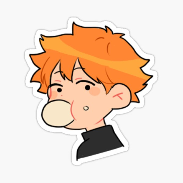 Bun Hinata Sticker