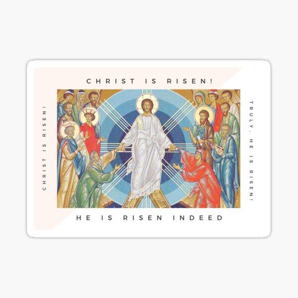 Christ Is Risen! Sticker
