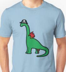 Pirate Dinosaur - Brachiosaurus Unisex T-Shirt