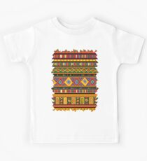 Ethnic Colorful Pattern Africa Art Kids Tee