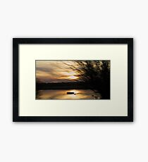 Sunlight Fiasco Framed Print