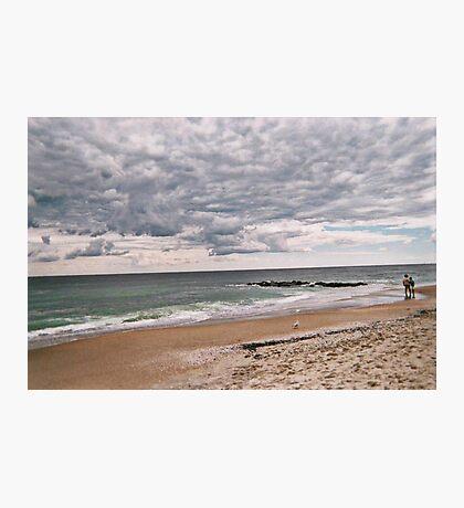 The Peaceful Beach At Ocean Grove NJ Photographic Print