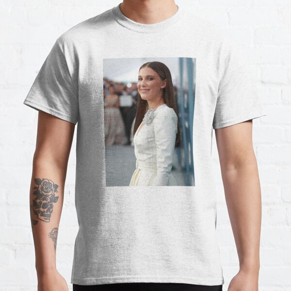 Millie Bobby Brown T Shirt By Butterfly Dream Redbubble