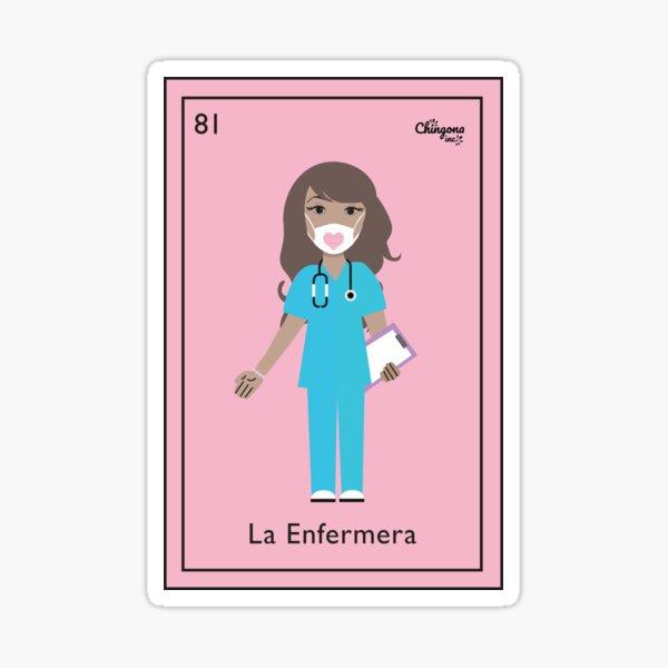 La Enfermera 2020 Pegatina