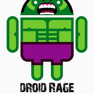 Droid Rage BugDroid by dbenton25