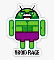 Droid Rage BugDroid Sticker