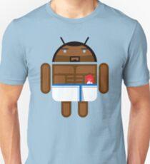 Old Spice Guy BugDroid Unisex T-Shirt