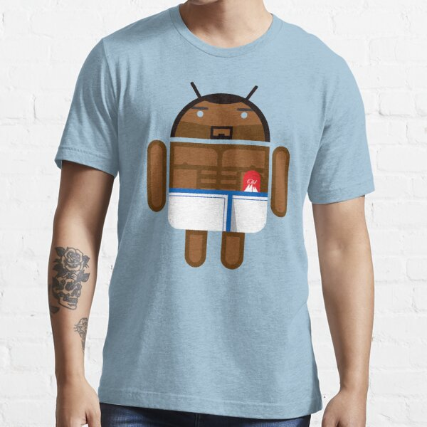 Old Spice Guy BugDroid Essential T-Shirt