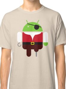 Pirate BugDroid Classic T-Shirt
