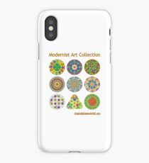 Modernist Art Collection iPhone Case