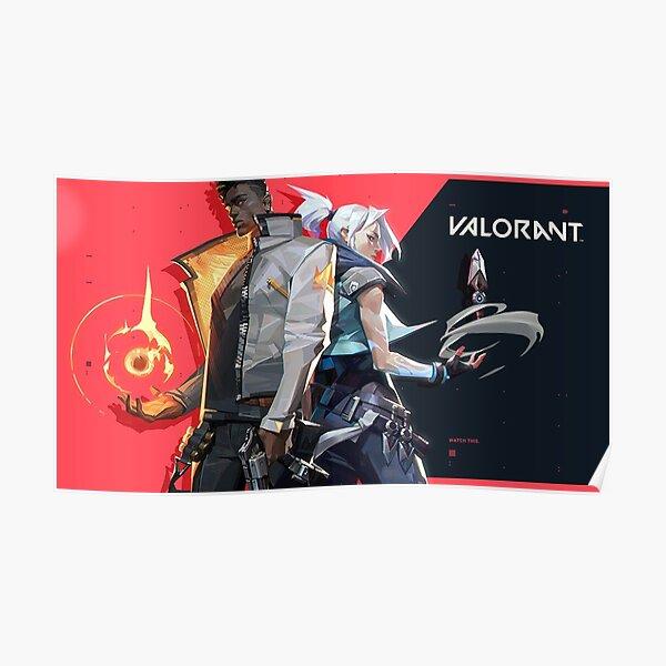 Valorant - De Riot Games Póster